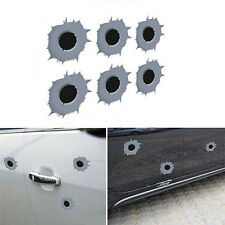 Hot Bullet Hole Shot Hole Sticker Funny Decal For Car Laptop Window Mirror MW