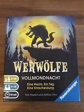 Werwölfe Vollmondnacht, Ravensburger, Kartenspiel, Kinderspiel, Rollenspiel, NEU