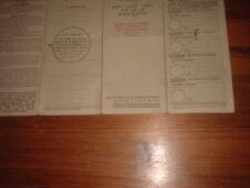 1959 FORD CONSUL MK2 BUFF BOOK, RF60,MEMORABILIA,NOT CANCELLED