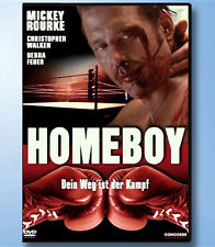 HOMEBOY Mickey Rourke DVD Christopher Walken BOXEN Sport Debra Feuer DRAMA Ring
