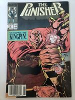 THE PUNISHER #15 (1989) MARVEL COMICS WHILCE PORTACIO ART! HTF NEWSSTAND VARIANT