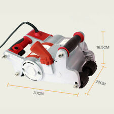 New listing 1100W Electric Wall Chaser Machine for Brick Wall Cutting Groove Notcher 2000Rpm