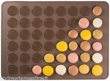 Andrew James Silicone Non Stick Macaron Baking Mat Macaroon Tray 48 Cavities