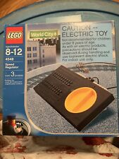 LEGO 4548 Speed Regulator & Transformer World City  New! Factory Sealed! 1991