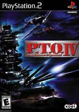 P.T.O. IV (Sony PlayStation 2, PS2 2003) *COMPLETE*