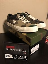 Exclusive Converse x Sneakersnstuff One Star SNS Brown Camo 161406C Size 10