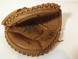 Rawlings RCM 55 Lite Toe Glove Vintage Baseball Catchers Mitt Mike Piazza RHT