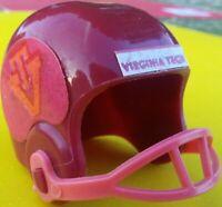1970 NCAA Vintage VIRGINIA Tech HOKIES mini gumball football helmet College ball