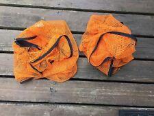 2 Orange Net Storage Bags