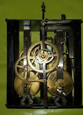 MINI MOUVEMENT PENDULE COMTOISE OROLOGIO OLD CLOCK UHR RELOJ 8