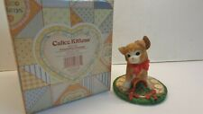 "2001 Calico Kittens figurine ""Poinsettia Pruning"" #865788"