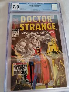 Doctor Strange 169 CGC 7.0 Marvel comic Movie 1st solo series MCU