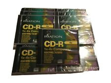 Imation CD RW Discs 74 Minutes New In Box  Lot of 9