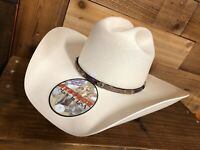 Stetson 30X men's Straw Cowboy Hat Trapper Made in USA