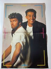 More details for wham - colour centre page from look in (1/2/86 - no 6 ) -  excellent condition