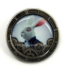 NEW Disney Parks Alice Through the Looking Glass Mystery Pin - White Rabbit