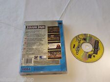 Jurassic Park RARE vintage video game Sega CD adventure classic 1992 Universal