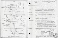 Piaggio P.136 L-1 ROYAL GULL Manual amphibian flying boat Air Sea Rescue Plane