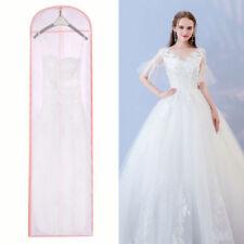 Extra Long Wedding Evening Dress Gown Garment Dustproof Storage Cover Bag Zipped