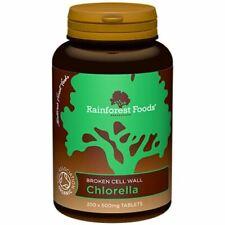 Rainforest Foods Chlorella 500 mg Comprimés - 300 S - 79069
