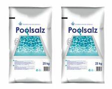 (0,62?/1kg) Salinen Poolsalz 50 kg Pool Schwimmbecken Salz Siedesalz