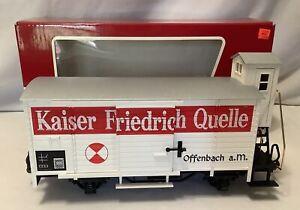 LGB Lehmann G Scale 40265 Kaiser Friedrich Quelle Train Car w/ Original Box