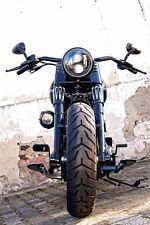 """Fari LED 7"""" con autorizzazione Harley Fat Boy Low SPECIAL SLIM BOD Customs"""