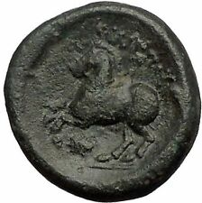 Philip II 359BC Olympic Games HORSE Race WIN Macedonia Ancient Greek Coin i57400
