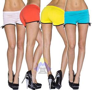 Pantaloncino da DONNA Shorts CORTI Pantaloncini SEXY Hot PANTS Culottes 22033