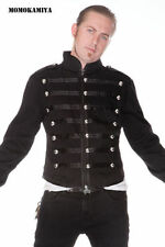Cotton Collared Zip Military Coats & Jackets for Men