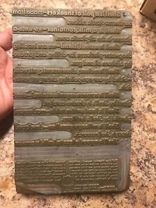 THE SHELL CO METAL PRINTING PLATE ADVERTISING Print