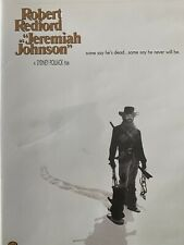 Jeremiah Johnson (DVD, 1972) Robert Redford