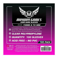 Mayday Small Square Card Sleeves (Pack of 100/70 MM X 70 MM)