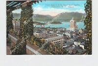 PPC POSTCARD CANADA BRITISH COLUMBIA VANCOUVER VIEW FROM C.P.R. HOTEL ROOF GARDE