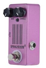 mosky Spring Reverb Pedal Guitar Effect Pedal And True Bypass Great Tone