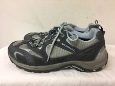 MERRELL WOMEN  AIR CUSHION BLUE/GRAYS HIKING SHOES SIZE US 10 UK 7.5 EUR 41