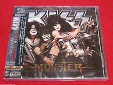 KISS - MONSTER - JAPAN JEWEL CASE SHM CD