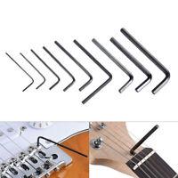 9pcs Ensemble de clé de réglage de tige de ferme pour guitare  Accessoires