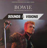 David Bowie - Sounds & Visions : The Legendary Broadcasts - Grey Vinyl LP  *New*