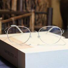 Vintage aviator titanium eyeglasses HARRY POTTER mens optical Rx glasses