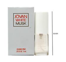 JOVAN WHITE MUSK COLOGNE SPRAY 11 ML/0.375 FL.OZ. MINIATURE