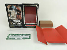 """replacement vintage star wars 12"""" r2-d2 box + inserts"""