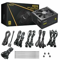 Segotep 650W/750W Gaming Power Supply GP Series 80 Plus Gold Certified NEW
