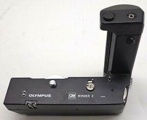 Olympus OM Winder 2 For OM-1 OM-2 OM-3 OM-4 Cameras Tested And Works FREE SHIP!!