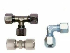 Gasrohr - Verschraubungen für Stahl- u. Kupferrohr