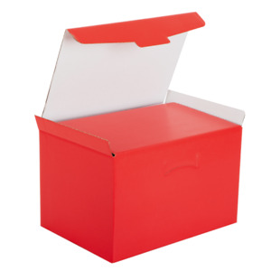Boxes Basket Packages Lockable Gift Red 40 x 28 For 25 CM Panettone 1 KG