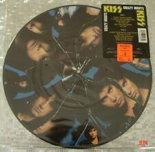 "KISS  ""Crazy Crazy Nights""  PICTURE DISC LP  Mercury 832 903-1 Q-1"