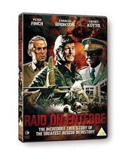 Raid on Entebbe [1976] Genuine UK DVD NEW SEALED - Peter Finch, Charles Bronson