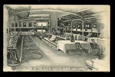 RAILWAY GER Shipping RMS Dresden SALOON vintage PPC