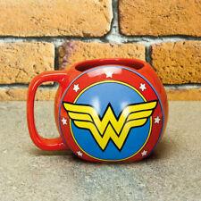 DC Comics Wonder Woman Insegna Bicchiere 3D Tazza da caffè 300 ml Merce NUOVA